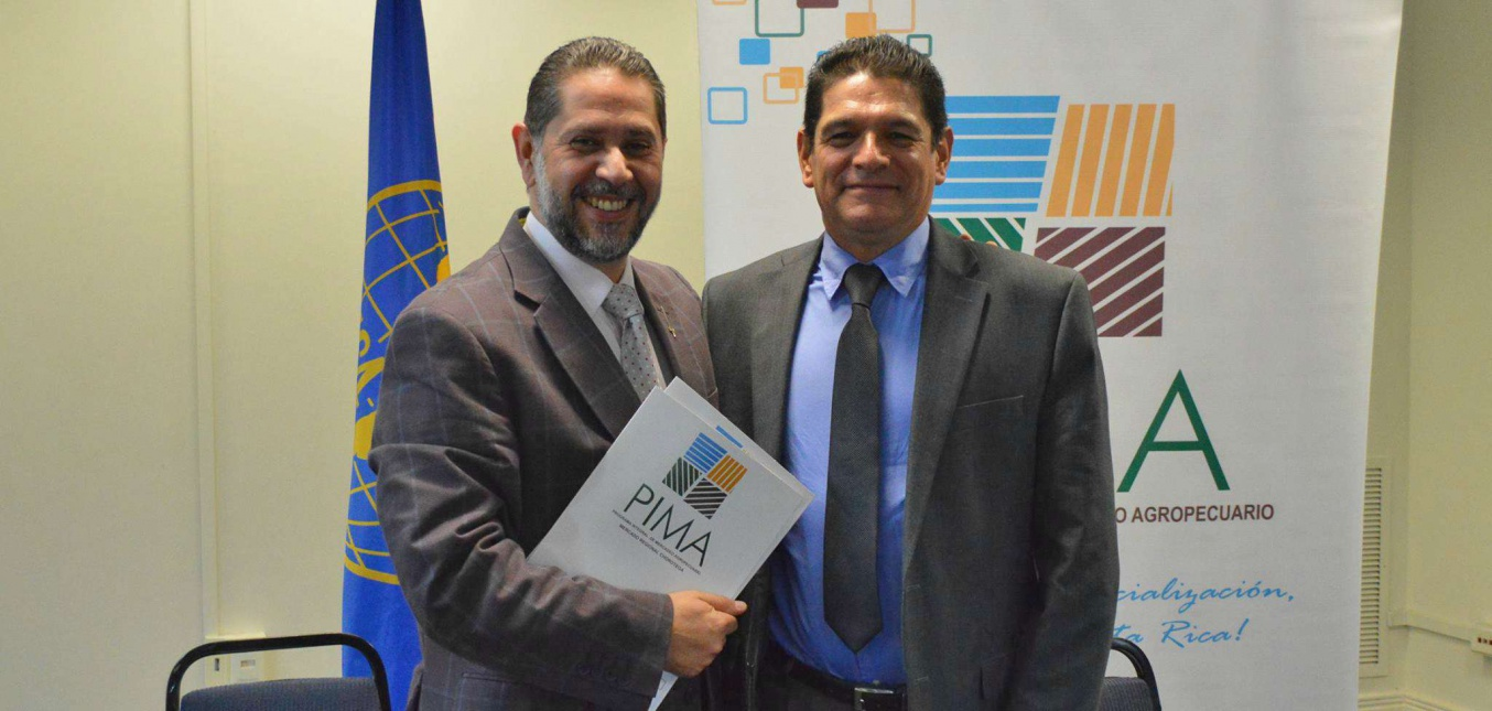 IICA y el PIMA buscarán mejorar el comercio interno agroalimentario de Costa Rica