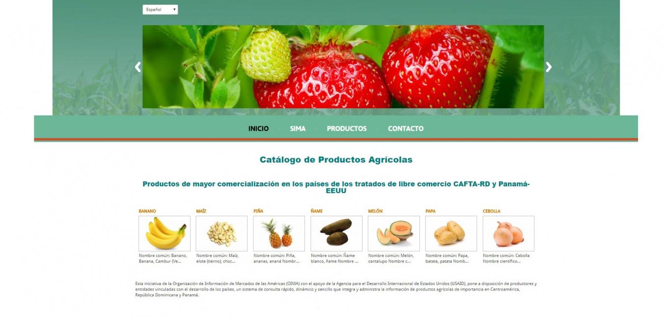 OIMA lanza catálogo de productos agrícolas
