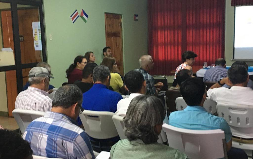 Taller del Comité Sectorial Regional Agropecuario de la Región Chorotega