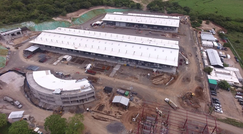 Más de 570 trabajadores aceleran construcción del Mercado Regional Chorotega