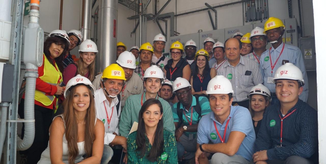 Visita técnica a las instalaciones de REFRINA por parte de PROKLIMA y MINAET