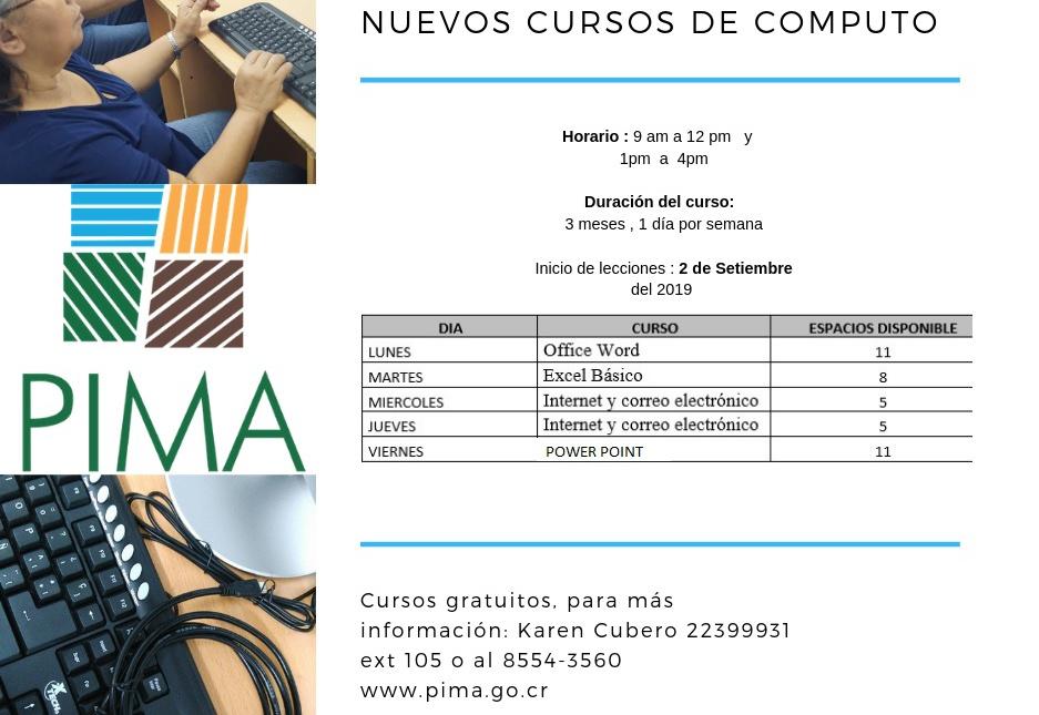 Inicio de cursos en CECI-CENADA