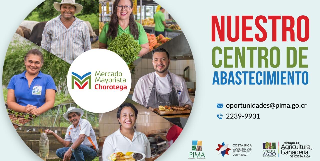 Horario Mercado Regional Chorotega para fin y principio de año 2020
