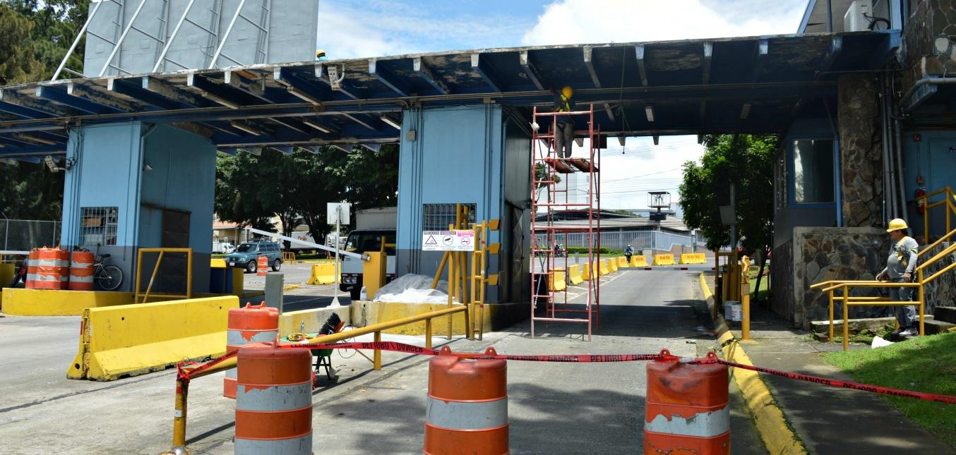 Administración Cenada realiza mejoras de infraestructura, mantenimiento y aseo  en la Central Mayorista