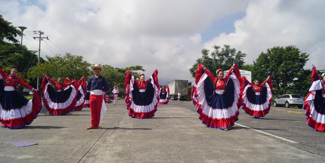 Saludo,200 años de Independencia de Costa Rica